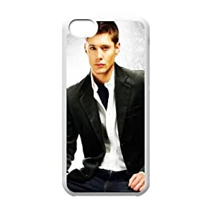 iPhone 5c Cell Phone Case White Jensen Ackles Clear Phone Case Covers Plastic XPDSUNTR22773