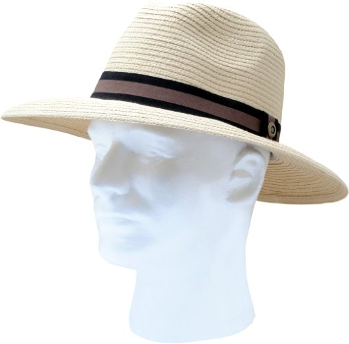 """Sloggers """"Dolph"""" -  Men's Braided Hat, Light Brown"""