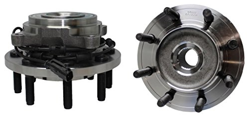 Both (2) New Front Left & Right Side Complete 4x4 Wheel Hub & Bearing Assembly for [09-11 Ram 2500 4x4 w/ABS] - 09-11 Ram 3500 4x4 w/ABS