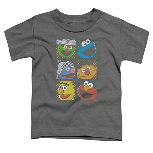 Toddler: Sesame Street- Character Stamps Baby T-Shirt Size 2T