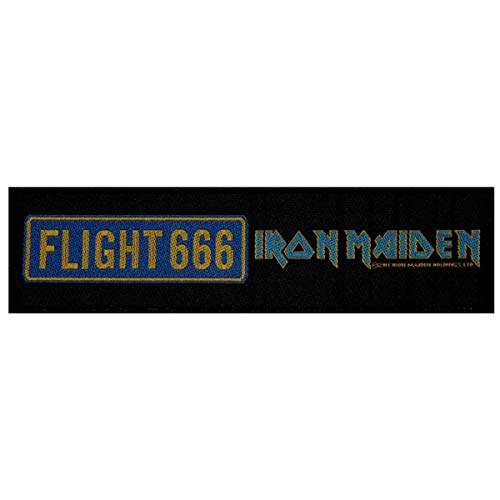 SS Flight 666 Iron Maiden Patch Heavy Metal Film Band Soundtrack Sew On Applique