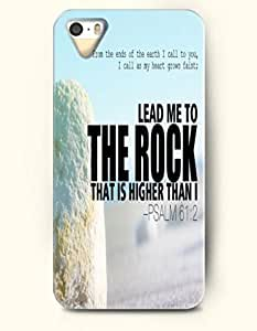 iPhone 5 5S Case OOFIT Phone Hard Case ** NEW ** Case with Design From The Ends Of The Earth I Call To You, I Call As My Heart Grows Faint; Lead Me To The Rock That Is Higher Than I Psalm 61:2- Bible Verses - Case for Samsung Galxy S4 I9500/I9502