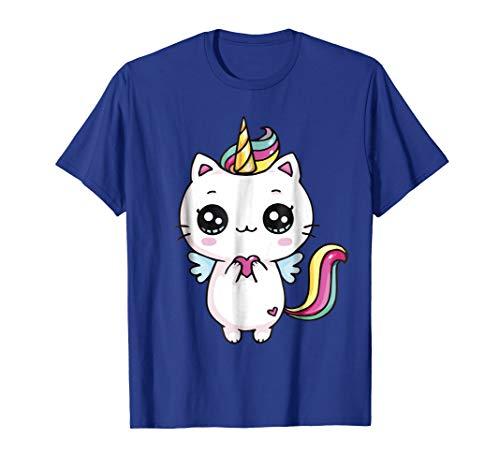 Caticorn Meowgical Rainbow T-shirt Cat Kittycorn Unicorn