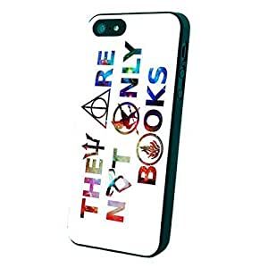 Super They Are Not Only Books NDR Custom Case for Iphone 5S