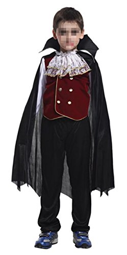 Betusline Kids Boys Halloween Cosplay Vampire Toddler Costume