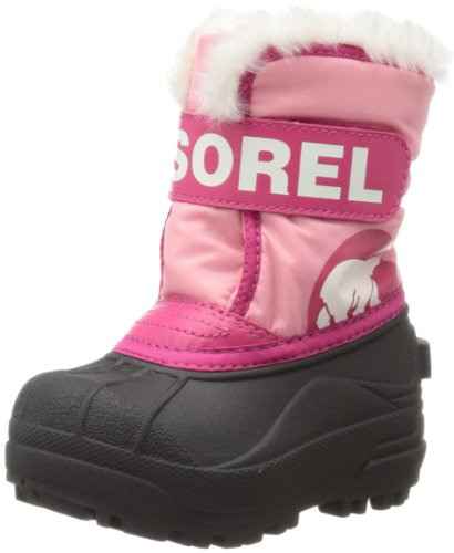 Sorel Snow Commander Winter Boot,Coral Pink/Bright Rose,7 ...