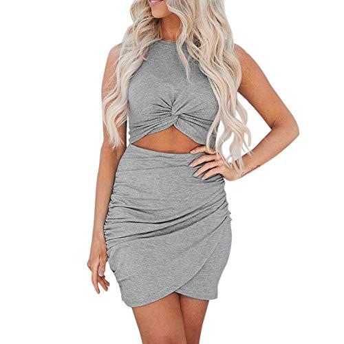 Pencil Skirt Pinstriped - Togethor Women's Ethnic Cotton Linen Short/Long Sleeves Irregular DressWomen Maxi Dress Stripe Cartoon Printed Robe Summer Casual Gray