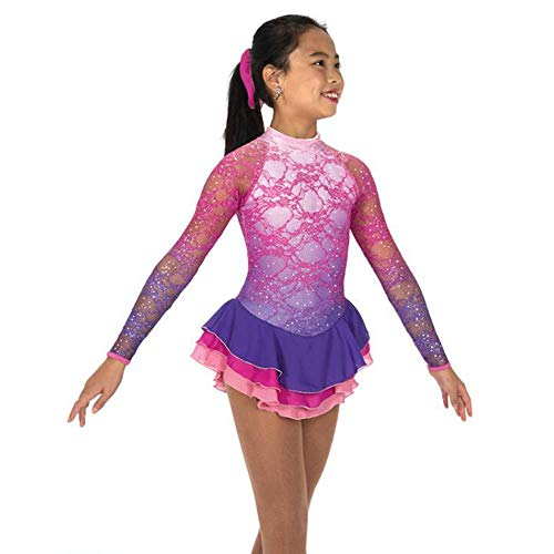 Ice Skating Costumes Sochi - Women Girls Figure Skating Suit Ice