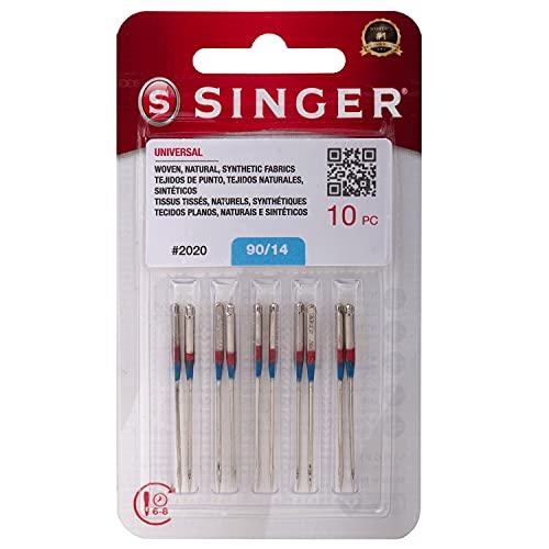 10 Agujas SINGER Universal Size 90/14