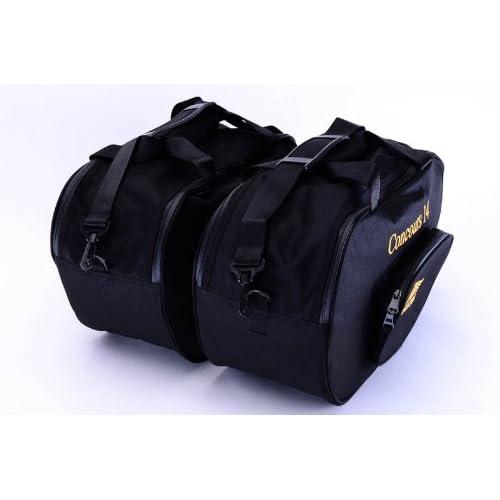Pair Bestem LGKA-CON14-SDL-R Black Regular Saddlebag Liners for Kawasaki Concours 14 GTR1400