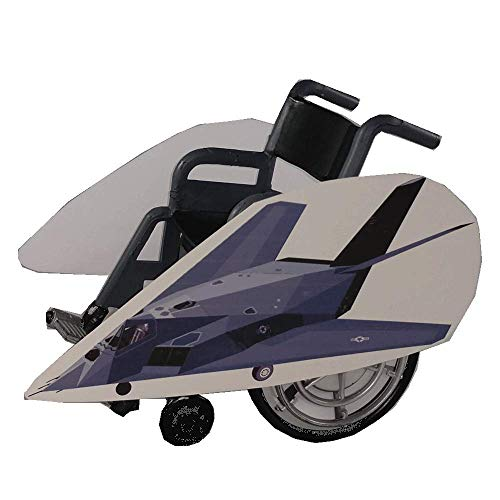 Stealth Fighter Jet Wheelchair Costume -