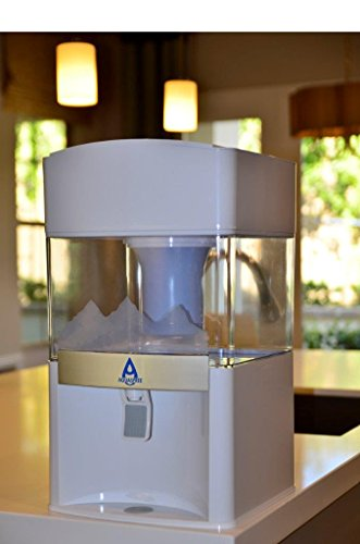 AQUASPREE Exclusive 7 Stage Alkaline Water Filter. Premium Quality 5 Gallon Countertop Water Purification System. Transform Regular Tap Water to Safe Delicious Alkaline Mineral Drinking Water (Water Filter Countertop)