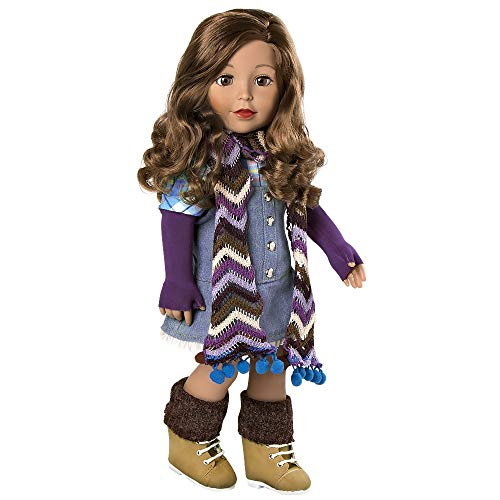 """Adora Amazing Girls 18 Inch Doll, """"Ava"""" (Amazon Exclusive) Compatible With Most 18 Inch Doll Accessories And Clothing"""