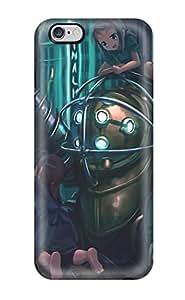 Fashionable LuWRUZa3305Muzbc Iphone 6 Plus Case Cover For Big Daddy Bioshock Drill Protective Case