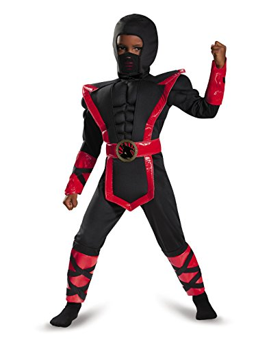 Ninja Toddler Muscle Costume, Medium (3T-4T)
