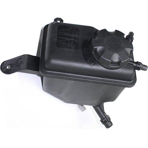 Coolant Reservoir Expansion Tank compatible with 5-Series 04-10 Sedan/Wagon Plastic w/cap; Without level sensor Replaces Partslink# BM3014107