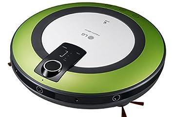 LG - Robot Aspirador VR5906LM - Sistema doble cámara, batería Litio, 60Db, Detección de obstáculos y escaleras: Amazon.es: Hogar