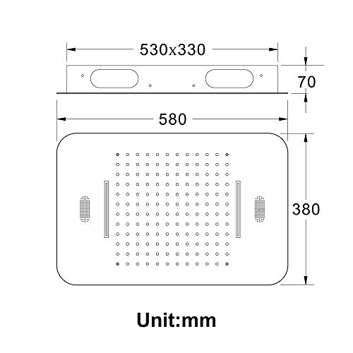 LED-Duschsystem