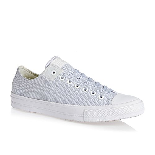 Converse Chuck Taylor All Star Ii Low Mens Sneakers Bianco Bianco / Blu Granito / Bianco