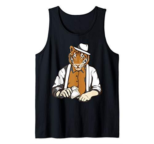 Gambling Man Halloween Costumes - Gambling Tiger Costume Cool Easy Tiger