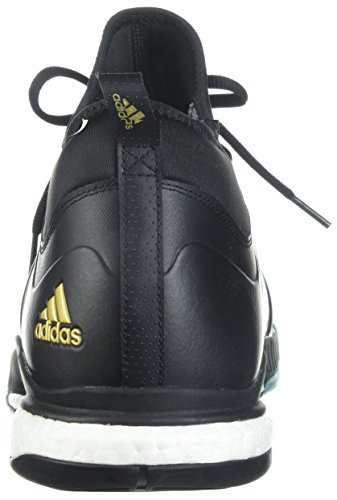 adidas Originals Men's Crazyflight X Mid Volleyball Shoes Core Black/Gold Met/Icey Blue clearance for cheap dLknYuWOyB