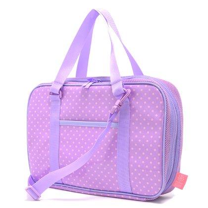 Made in Japan N2203810 (pink dots on purple ground) Kids Calligraphy, penmanship set Kuretake polka dot rated on style (japan import)