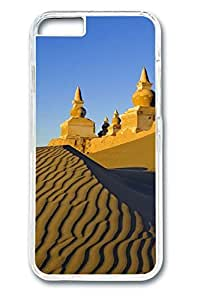 iPhone 6 Case - Desert Castle Illustrators Series Protective Hard Clear Case Cover Skin For iPhone 6 (4.7 inch)