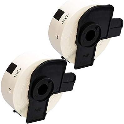 2 Etiketten kompatibel mit Brother DK-11201 P-Touch QL1050 QL1060N QL500 QL550 Q