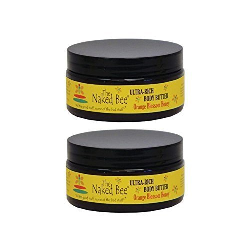 Blossom Body Butter - The Naked Bee Orange Blossom Ultra Rich Body Butter Lotion 8oz (Pack of 2)