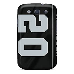 New VariousItem Super Strong Oakland Raiders Tpu Case Cover For Galaxy S3