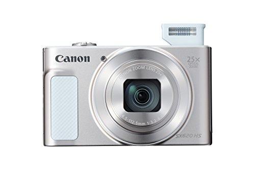 Canon PowerShot SX620 Digital Camera w/25x Optical Zoom - Wi-Fi & NFC Enabled (Silver)