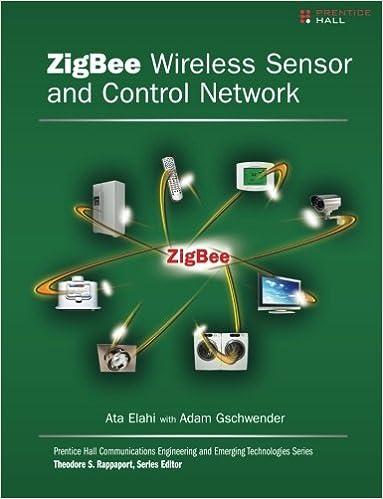 Amazon com: ZigBee Wireless Sensor and Control Network