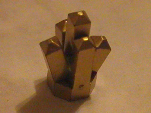 Lego Gold Crystal Power Miner Minifigure Accessory