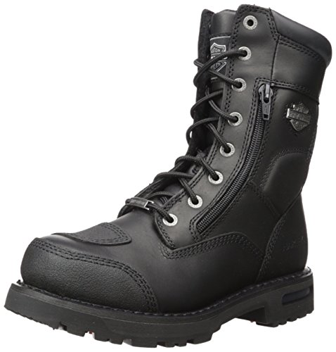 Harley-Davidson Men's Riddick Motorcycle Riding Boots - Harley Davidson Step