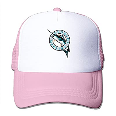 Texhood The Florida DOPHINS Marlins Cool Hiphop Cap One Size Pink
