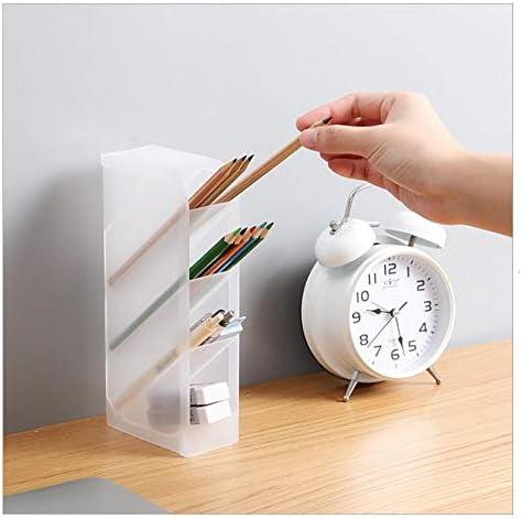 Sgualie Aufbewahrungsbox aus transparentem Kunststoff Mattschwarz