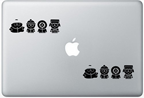 South Park Characters FlashDecals1624 Set Of Two (2x) , Decal , Sticker , Laptop , Ipad , Car , Truck