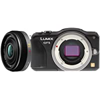 Panasonic Lumix DMC-GF5 Digital Camera with 14mm 2.5G Lens Black