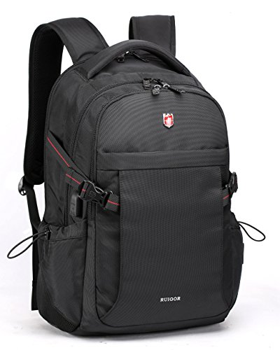 Swiss Ruigor 6424 Water Resistant Backpack Fit For 15.6