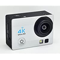 Pabako 4K Sports Ultra HD DV Action Camera Wi-Fi 16MP 4K 30fps 1080P 60fps 720P 30/60/90fps Color Silver