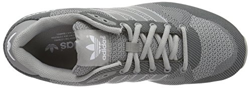 adidas Herren ZX 750 WV Low-Top Grau (Mgh Solid Grey/Ch Solid Grey/Ftwr White)