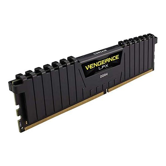 Corsair Vengeance LPX 16GB (2x8GB) DDR4 DRAM 3200MHz C16 Desktop Memory Kit - Black (CMK16GX4M2B3200C16) 41h5a8ytKnL. SS555