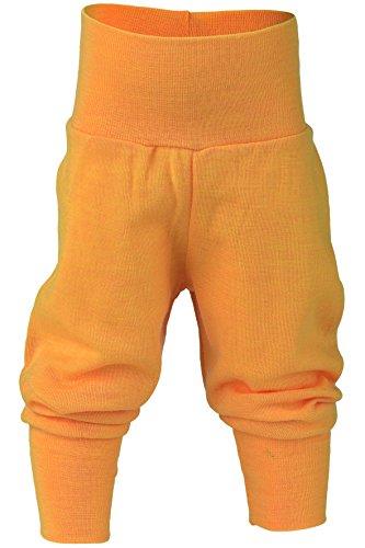 Engel 100% organic merino wool pants longies pajama (62/68, Sunshine yellow)