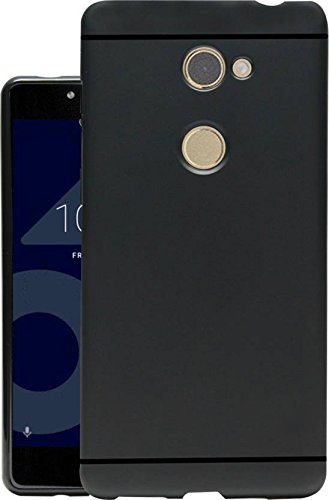 reputable site 53721 d4558 Jkobi Matte+ Ultra Protection Rubberised Soft Back Case Cover for Tenor  10.Or E -Black