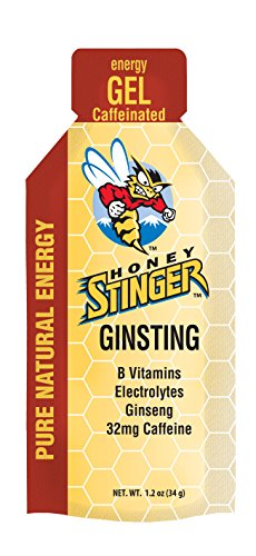 Honey Stinger Energy Gel 8 Pack – Plus Free ZYM Electrolyte Trial (Classic Ginsting)