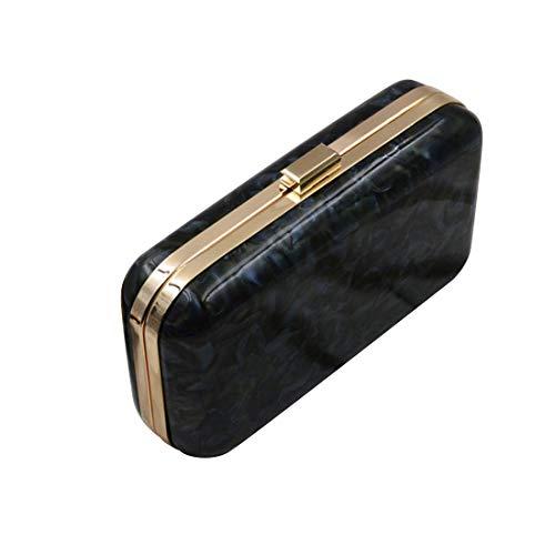 acrylique ronde Pochette 3 Iudrfgsd Black arrondie couleurs 4q8xz