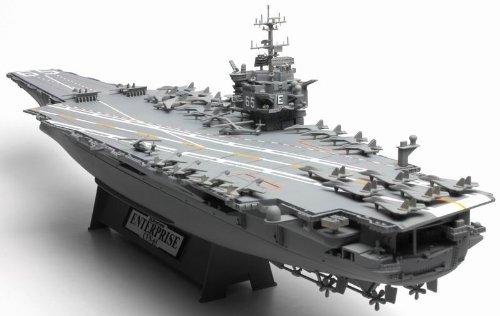 UNIMAX 1/700 CVN-65 空母エンタープライズ アメリカ軍