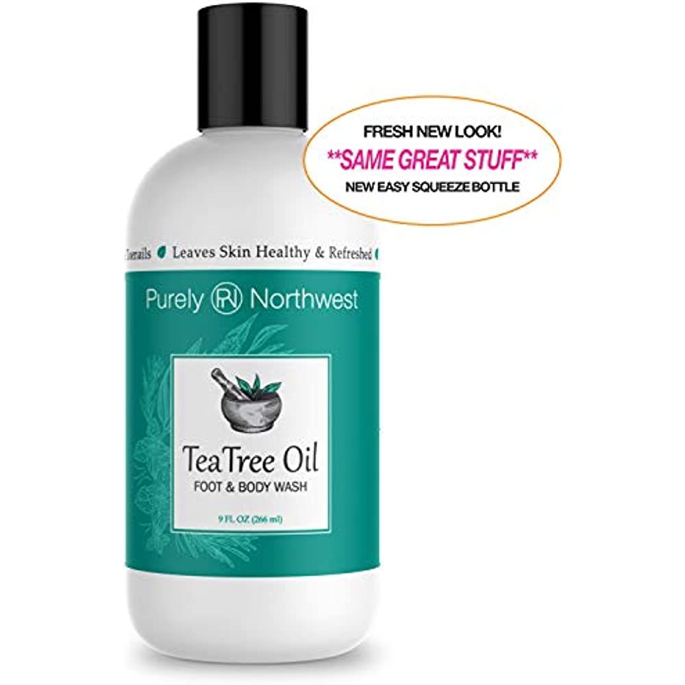 Antifungal Body Washes Tea Tree Oil Wash, Helps Athletes