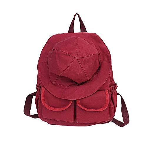 pour porté HCXIN Femme Rouge Sac Main Dos Gleb à au rtFYwqFS