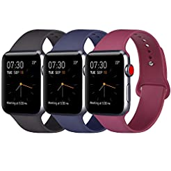 Pack 3 Compatible with Apple Watch Band ...